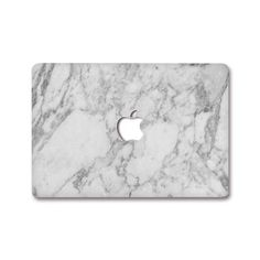 MacBook Decal - White Marble
