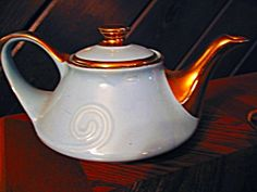 Hall Aqua Pearl China Aladden Tea Pot