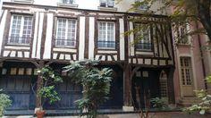 Old yard in the #Marais