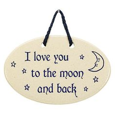 I Love You Plaque - Gifts, Clothing, Jewelry, Home Decor & Home Furnishings - Unique and Affordable Gifts | Potpourri Gift