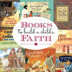 """Looking for some storybooks with a purpose? Entertain your kids while encouraging their faith, too. """"Books to Build a Child's Faith"""" guest post by Zonderkidz author Laura Sassi on Time Out with Becky Kopitzke."""