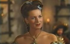 maureen o'hara the spanish main | Maureen O'Hara as Contessa Francesca in The Spanish Main (1945)