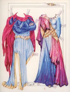 CAMELOT PAPER DOLL BOOK