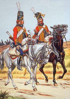 Les cavaliers de la Grande Armée :: Les Hussards néons