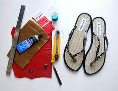 Best sandal DIY yet!