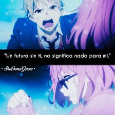 Un futuro sin ti #ShuOumaGcrow #Anime #Frases_anime #frases