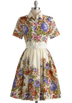 Whirled of Possibilities Dress, #ModCloth