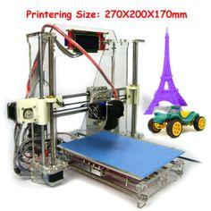 3D-Printer-Kit-LCD-Screen-Reprap-Prusa-i3-Self-assembly-Print-Size-270-200-170