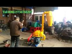 new wood crusher machine with cyclone Wood crusher machine is used to crush wood log,wood branch etc.Even the diameter is not bigger than 25 cm is ok. Website: http://biomassmachines.com/product_72.html Tel: +8615736766207