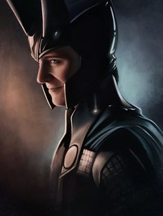 God of Mischief. Look at that face.