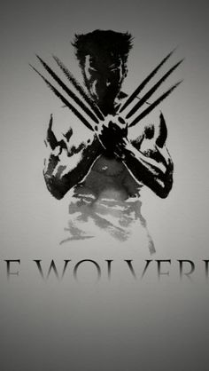 Hugh Jackman Wolverine Sketch - The iPhone Wallpapers