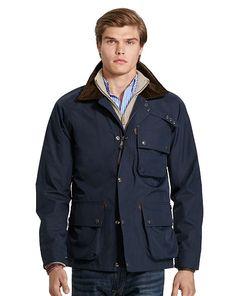Water-Resistant Utility Jacket - Polo Ralph Lauren Lightweight & Quilted  - RalphLauren.com