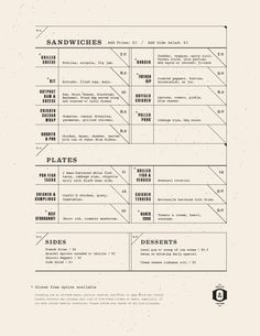 Art of the Menu: Outpost