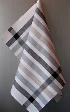 gray kitchen towels cheapest cabinets die 165 besten bilder von geschirrtuch weave dish und tea towel set stripes striped linen hand black white of 2