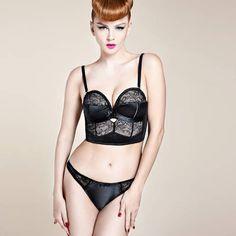 Soutien-gorge bustier Her Sexellency Noir