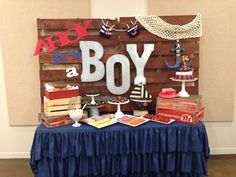 Nautical Baby Shower Party Ideas | Photo 3 of 8