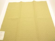 "Schumacher Sevigne Fabric Sample 27'' x 26"" Olive Cotton Spun Rayon + FREE SAMPLES on Etsy, $7.99"