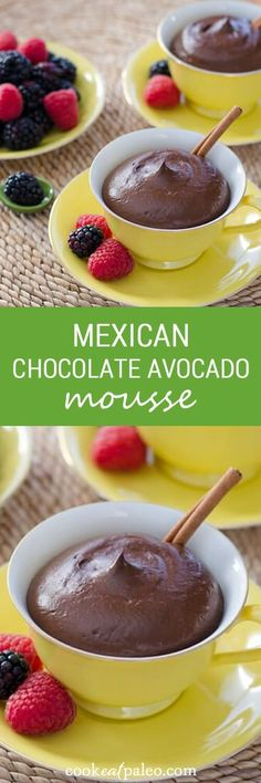 This Mexican chocolate avocado mousse is gluten-free, dairy-free and egg-free.