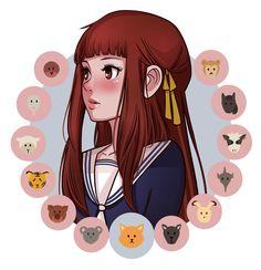 Fruits And Vegetables Re-Invented, The New Era Of Juicing Manhwa, Cardcaptor Sakura, Anime Manga, Anime Art, Fruits Basket Manga, Fruits Basket Cosplay, Tohru Honda, Grolet, Girls Anime