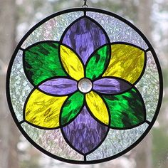 Purple gold and green stained glass 4 витражи Stained Glass Suncatchers, Faux Stained Glass, Stained Glass Designs, Stained Glass Panels, Stained Glass Projects, Stained Glass Patterns, Mosaic Patterns, Painting On Glass Windows, Glass Painting Designs