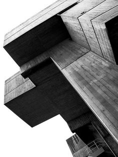 Brutalist architecture is good for dystopia.