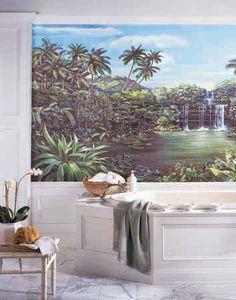 Mural Wallpaper. Beautiful.