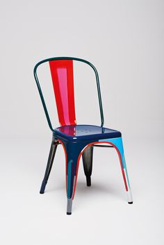 Tolix chairs reinterpreted by designers - on @sightunseen
