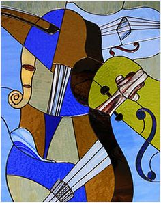 Violins, inspired by Pablo Picasso