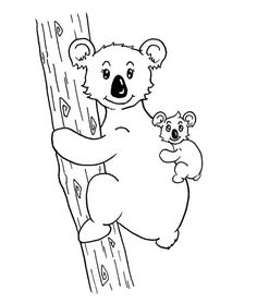 comment dessiner une maman koala et son bébé koala Trait Vertical, Snoopy, Fictional Characters, Art, Color Pencil Picture, Pencil Drawings, Easy Drawing Tutorial, Baby Koala, Learn To Draw