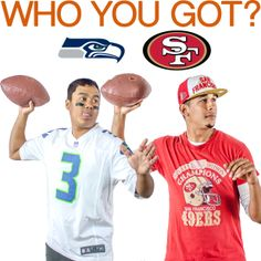 #49ers #Seahawks #NFL Who do you have in this game?