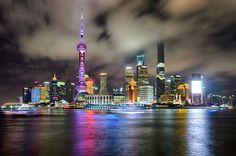 Cloudy Skyline - Shanghai