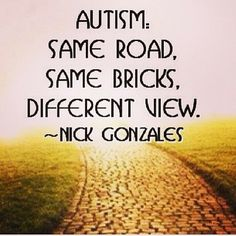 Interesting quote to give some a nice perspective on autism #autism #speechtherapy