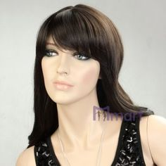 quality best selling hot fashion style female long brown wavy hair wigs for women girls ladies miss [MM-WG-S418-4] - $21.21 : Miimart, where you buy cheap and cheerful
