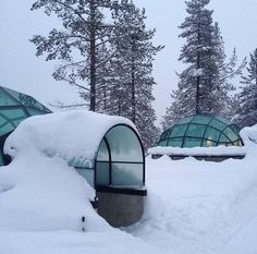 Hotel and Igloo Village