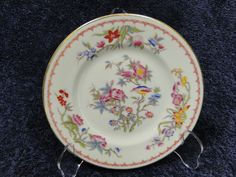 """Syracuse China Old Ivory Bombay Bread Plate 6 1/4"""" with Gold Trim #Syracuse"""