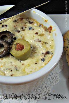 Olla-Podrida: Olive Cheese Spread