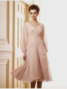 Awesome Summer mother of the bride dresses tea length 2017-2018