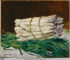 Edouard Manet, Asparagus, Spargelstilleben, 1880
