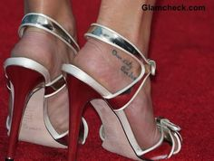Celebrity Feet Tattoos