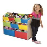 Found it at Wayfair - Multi-Color Deluxe Toy Organizer with Bins NEED THESE!!