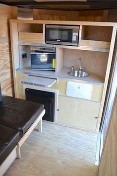 cargo trailers pics for camping | front cargo trailer package