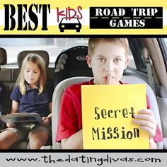 Have the Best Road Trip EVER with your kids using these fantastic games and ideas.