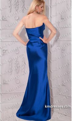 fabulous Draped twisted bow Embellished floor length satin dress.prom dresses,formal dresses,ball gown,homecoming dresses,party dress,evening dresses,sequin dresses,cocktail dresses,graduation dresses,formal gowns,prom gown,evening gown.