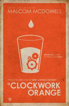clockwork orange posters - Google Search