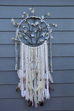 Tree Of Life Dreamcatcher - Dream Catcher, Dreamcatcher, Boho Decor, Bohemian Decor, Bedroom Decor, Nursery Decor, Wall Decor, Wedding Decor