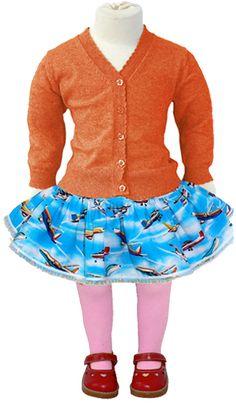 Madre Perla airplane skirt