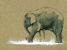 picasso elephant | It's not nature I'm painting, but before nature, with it. - Picasso