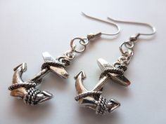https://www.etsy.com/listing/110328773/silver-anchor-earrings