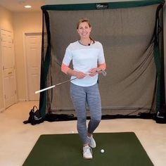 Lesson by Erika Larkin Golf Attire, Golf Outfit, Volleyball Tips, Golf Pga, Sexy Golf, Gym Workout Videos, Golf Instruction, Ladies Golf, Golf Tips