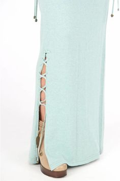 Isla Ibiza Maxi Skirt Braided Isla Ibiza - Turquoise Soft Colors, Ibiza, Braids, Turquoise, Colour, Skirts, Clothes, Fashion, Muted Colors